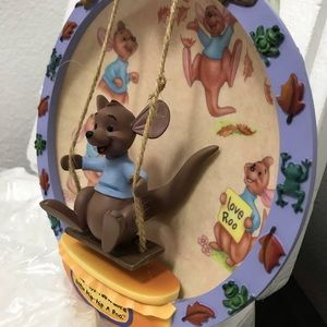 New Disney Roo collectors plate w/certificate